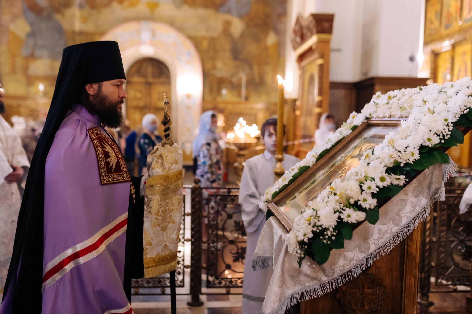 Праздник Вознесения Господня, Литургия и крестный ход